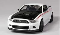 Maisto 1:24 2014 Ford Mustang Boss 302 Alloy Car Model Diecasts - white only
