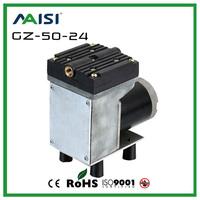 (GZ-50-24)12V /24V (DC) 33L/MIN 50 W Oil Free Diaphragm Vacuum Pump