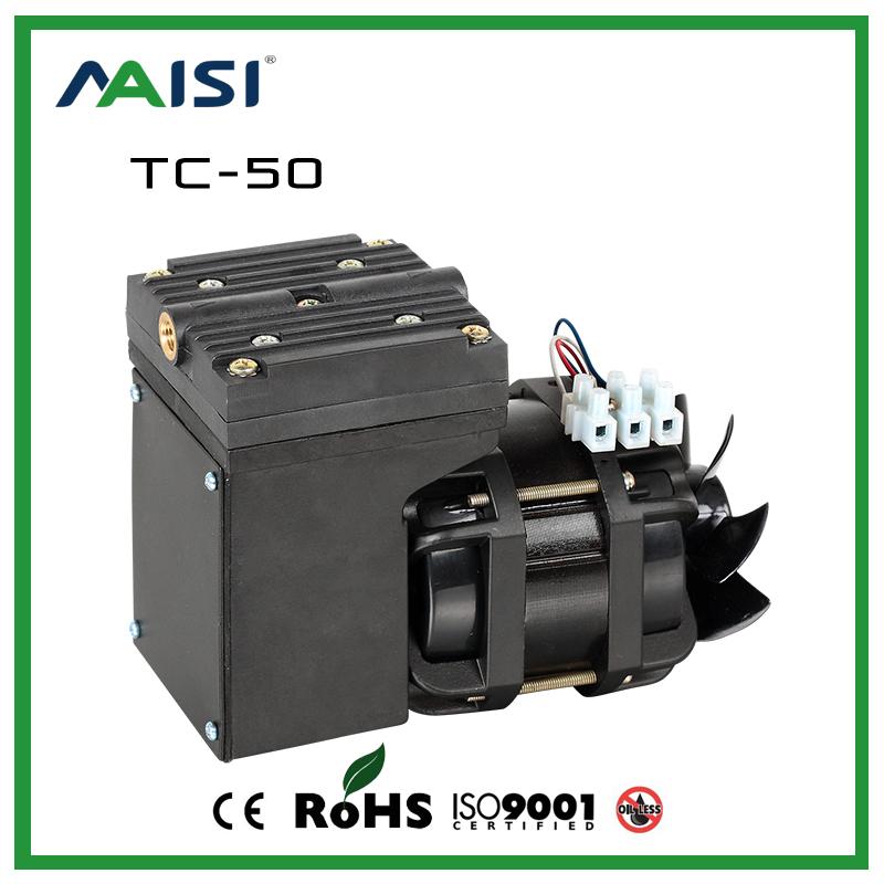 ( tc- 50) 110V/220V( ac) 25l/min 68 w ölfreie luft vakuumpumpe