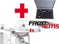 Free Shipping DJI Phantom 2 Vision Drone RTF With Camera 300M WIFI 1080P Live Video And Extra EVA Handle Case