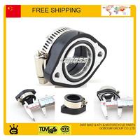Motorcycle Dirt Bike Racing Carburetor Rubber Adapter Inlet Intake Pipe For MIKUNI VM24 OKO KOSO KEIHIN PE28 28mm 30mm