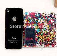 2014 Luxury Print Genuine Leather Wallet Short Design Women Wallets Famous Brand Wallet Colorful Wallet Women 11.5*1 *9.3