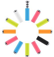 5pcs/lot Xiaomi MiKey mi key Klick quick button dustproof plug Earphone Jack Plug for XIAOMI Mi2s Hongmi MI3 phone Free shipping