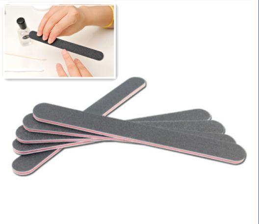 Free shipping 2pcs/lot Manicure Salon Buffer Sandpaper Nail Art Tool Files Buffing Double Side(China (Mainland))