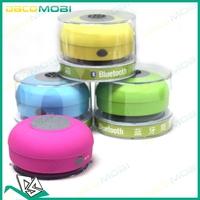 30Pcs Lot , Waterproof Bluetooth Speaker Shower Handsfree Speakerphone For Iphone 5S , DHL Free Shipping