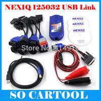 2014 Professional Heavy Duty Diagnostic NEXIQ 125032 USB Link + Software Diesel Truck Diagnose Interface Nexiq USB Link