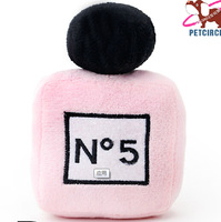 2014 New Perfume Senior Pink Sound Pet Dog Toy For Puppies Small Animals P937TT  Cat Yorkshire Chihuahua  Accessories Products