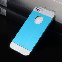 New arrival fashion designed PC and Aluminum moshi phone cover For Apple iphone 5 5s 4 4s iphone5 5g case 1 piece free shipping