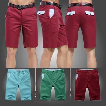 2015 лето мужчины с коротким свободного покроя шорты мма ourdoor средний талия хлопок красный синий зеленый размер 29-33 тренажерный зал спорт мужчины trousers141120
