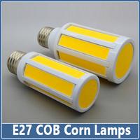 1pcs Mini E27 E14 COB LED Lamps AC 220V 9W/15W Crystal Candle Droplight Chandelier Spot Lights Corn Bulbs Indoor 360 degree