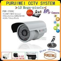 "100%Original 1/4""CMOS 1280x720 HD 36pcs IR LEDS ONVIF IR Cut Night vision 720P Mega pixel indoor Network IP Camera.Free shipping"