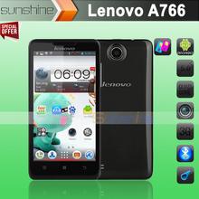 Original Lenovo A766 MTK6589m Quad Core Mobile Phone 5″ IPS Screen 4GB ROM Android 4.1 Dual SIM 5.0Mp GPS Multi Language