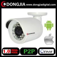 DA-IP3101SHR night vision ir cut Cheapest Small indoor outdoor IP66 waterproof 1 megapixel P2P 720P ip camera