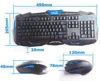 New 2.4G Special Computer Accessories Optical  Gaming Gamer Wireless Keyboard and Mouse USB 3.0 Black in stock