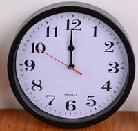 M19 good price for usual wall clock made of plastic materails desktop wall clocks modern design