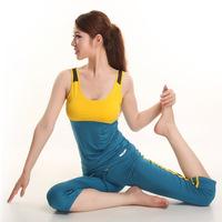 Patch Brand Running Gym Workout Wear Clothes Fitness Clothing Women's Training Suit Sports Suit Yoga Set Roupas De Ginastica