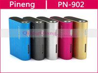 Original Pineng Rechargeable Mobile Power Bank PN-902 5000mAh External Battery Pack For Lenovo Smartphones/Tablet PC/Gray