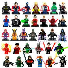 Marvel Super Hero Minifigures 33pcs/lot Classic Toys Building Blocks Sets Model Bricks Decool Figures Avengers Lego Compatible(China (Mainland))