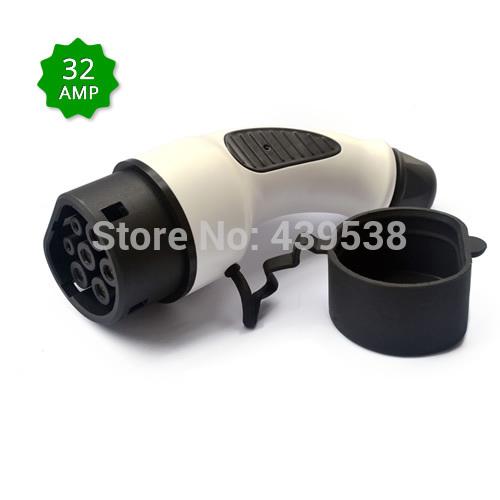 Iec 62196 carregamento de veículos eléctricos Plug / conector para europeu standard 32A(China (Mainland))