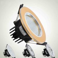 1PCS High brightness COB Led Ceiling Down Lamps 3W 5W 7W 9W Recessed Down Bulb light Cold/Warm white