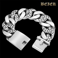 Thickness Stainelss STEEL Men's Accessories Exaggerated Man Bracelet jewelry Free Shipping JY-SL011