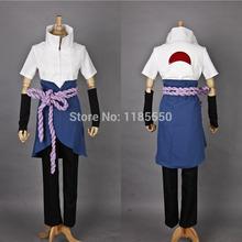 wholesale naruto sasuke uchiha cosplay costume