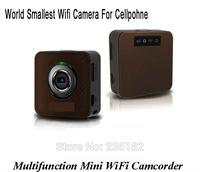 White Portable Multifunction  audio available surveillance camera