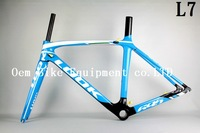 2014 LOOK 695 L7 LIGHT Carbon Road bicycle Frame bicycle frame and fork rear derailleur hanger,size XS/M/L