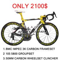 BMC IMPEC carbon bmc bike complete road bikes cheap bike carbon 700c oem carbon fiber bike frame 105 groupset free shipping