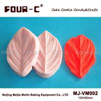Leaf veiner silicone moulds,fondant cake veiner mold,impression soap leaves mold