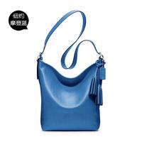 2014 new leather handbags | European and American fashion bag ladies leather bag diagonal shoulder bag | Free Shipping 13