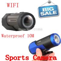 2014 New MINI Action Camera Sport DV 1080P FULL HD Waterproof Underwater Camera WIFI Function Helmet DV Free Shipping