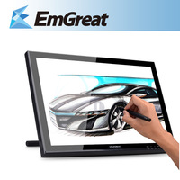 """$5 OFF $101 HUION GT-190 Digital LCD Tablet Monitor 19"""" LCD 1440x900 Interactive Pen Display Touch Screen Drawing Graphic Panel"""