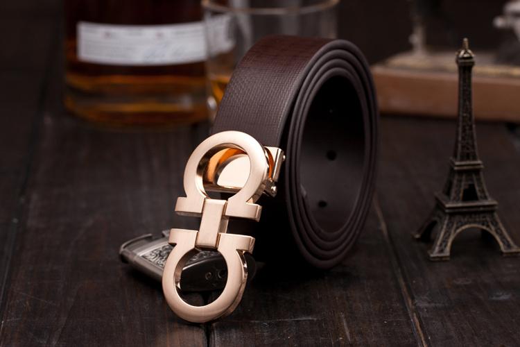 Discount classic genuine leather women/men straps fashion trouser joker lady&gentlemen belts letter design buckle unisex belts(China (Mainland))