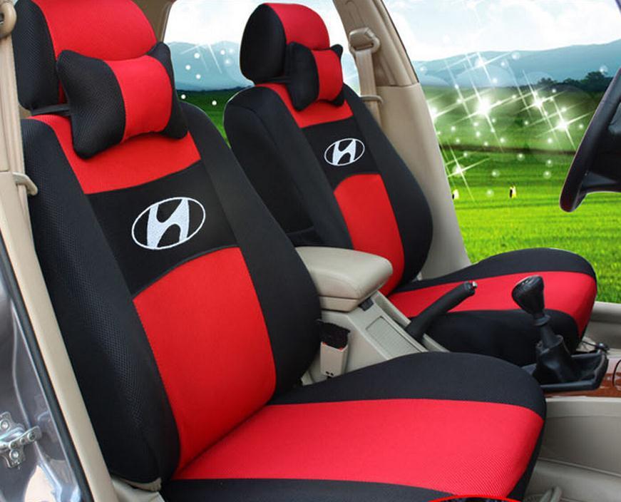 Universal Hyundai IX35 I30 Yuet / Elantra / Serena / ACCENT / Santa Fe / Ron dynamic special sandwich car seat covers(China (Mainland))