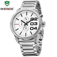 2014 WEIDE Original Watch 3ATM Military Watch Casual Men Sports Watch,Japan Miyota 2035 Quartz Movement,12-month Guarantee