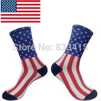 2014 Hot  Harajuku American flag socks men Diamond weed socks women socks fuck you pay me 100% pure cotton socks skateboar