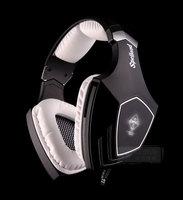 Super SADES OMG Professional Gaming Headset Headband Game Headphone 7.1 encoding audio headset with Mic Noise isolating