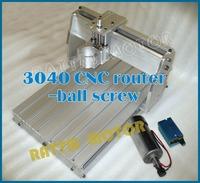 3040 CNC router milling machine mechanical kit ball screw