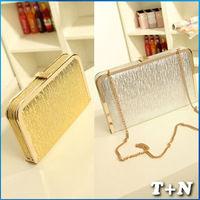 New Fashion Women Vintage Chain Bolsa Ancient Messenger Shoulder Bags Envelope Clutch Handbag