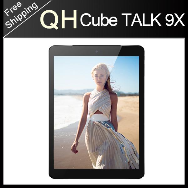 Cube Talk 9X U65GT Octa Core Talk9x 9.7 inch MT8392 3G Phone Call Tablet PC 2048*1536 IPS 2GB/32GB Android 4.4 Bluetooth Gift(China (Mainland))