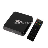 wholesale 10pcs a lot XBMC Gotham M8 Amlogic S802  Android 4.4 TV Box quad core 2G 8G GPU 4K HDMI  2.4G/5G Dual WiFi tv box