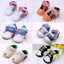 Bebê Prewalker All Kinds Of New Baby Shoes Sole fundo macio do bebê recém-nascido Sneakers Boys & Girls Shoes Kids Shoes Primeiros Walkers(China (Mainland))