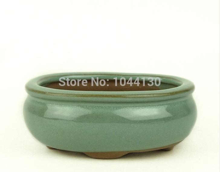 Chinese style flower pot ceramic flower pot elegantlife meat bonsai pot ceramic Succulent plant pot(China (Mainland))