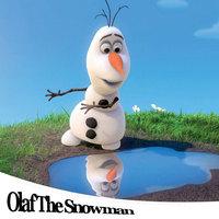 baby plush toy famous cartoon move dolls 2014 new splittable frozen olaf dolls plush toy cotton stuffed 25 cm Olaf The Snowman