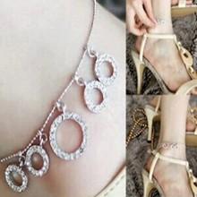 Fashion fashion rhinestone anklets ring size round anklet popular anklets