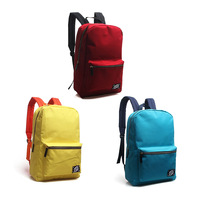 Soundbyte preppy style color block canvas backpack women men candy color fashion school backpack rucksack knapsack SD0341