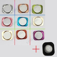 Home button Replace iPhone 5G home key become 5S Style with  Holder Rubber Gasket Sticker for free