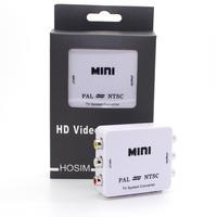 Mini RCA Video PAL to NTSC Bi-directional MINI TV Video System Converter PAL TO NTSC & NTSC TO PAL converter adapter