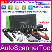 2014 New Arrival Mini 18000mAh Car Jump Starter With Flash/SOS Light Auto Emergeny Battery Power Bank Full Chargers Fast Ship